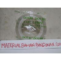Magic Tape Transparan 3 Meter Double Tape Dobel Tip Perekat Lem Kaca