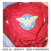 Sweater Anak Wonder Women - Hitam