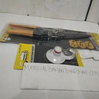 PAKET ALAT POTONG RUMPUT TANGAN PROHEX GAGANG PLASTIK HOOK PROHEX
