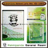 Baterai Lava iRis 702 LEB112 Double Power Batre HP RakkiPanda Original