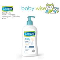 Cetaphil Baby Gentle Wash & Shampoo with Organic Calendula 400ml
