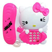 Mainan Anak Telepon Hello Kittyy 2553