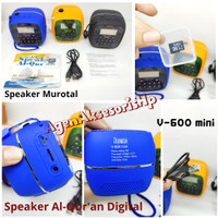 Speaker MUROTTAL Al Qur'an Digital Speaker V600 BT with Memory 16GB