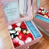Hampers Anniversary - Exclusive Gift Box - Money Box 1Juta 1020