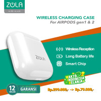 ZOLA Wireless Charging Case For Apple Airpods 1st Gen / 2nd Gen