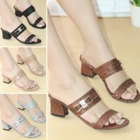 Sandal Wanita High Heels Mulan BPS52