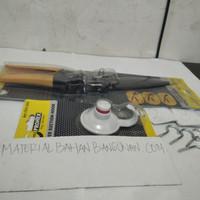 PAKET HEMAT PER4 GANTUNGAN BURUNG BUKA NO 8 GAGANG PLASTIK HOOK
