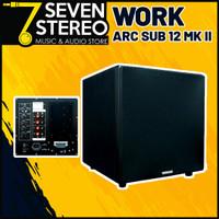 Speaker Subwoofer Aktif WORK ARC SUB 12 MKII - 12 inch 200 Watt Woofer