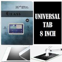 Universal Tab 8 Inch 8.0 Tempered Glass Screen Guard Anti Gores Kaca