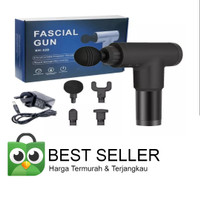 Massage Gun Fascial Gun Massager Pijat Pembentuk Otot Muscle Electric