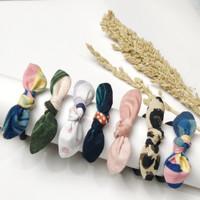 Poppy Handmade Hairbands Ikat Tali Rambut Korea Lucu Murah Model Pita