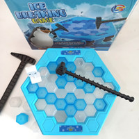 MAINAN ICE BREAKING GAMES BOARD - TRAP INTERACTIVE GAME PINGUIN