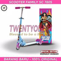Scooter / Otoped / Skuter Anak Roda Tiga Family SC 7805 Justice League