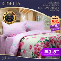 Rosetta Premium Bed Cover Set Bergaransi | Premium Bedding Set - Single