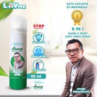 Lavme X Anang 6 In 1 Hand & Body Spray Anti Virus - Sultan Oud