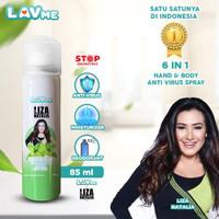 Lavme X Liza 6 In 1 Hand & Body Spray Anti Virus - Lavender Lemongrass