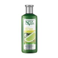 Natur Vital Sensitive Oily Shampoo Lime, 300ml
