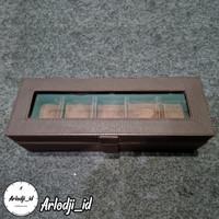 Watch Box Organizer Jumbo / Kotak Jam Jumbo Isi 5