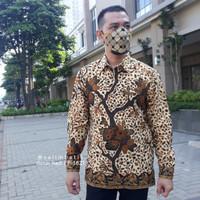 Kemeja Batik Danar Hadi Solo Motif Cerah