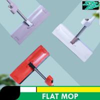FLAT MOP / Alat Pel Lantai Flat Mop Pel Tarik Praktis Hand Free