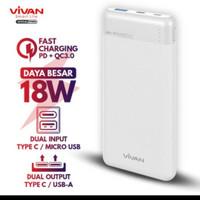 Power Bank Power Bank Vivan VPB M10 10000 Mah Original Quick Charge