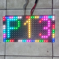 Panel Module Modul LED P13 P13.33 Running Text SMD RGB Full Outdoor