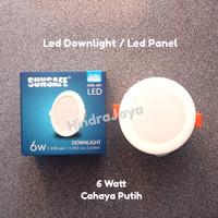 Lampu Led Downlight 6W / Led Panel 6 Watt