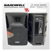 Speaker murah Aktif HARDWELL 15A ORIGINAL 15 inch USB MP3 Popular15A