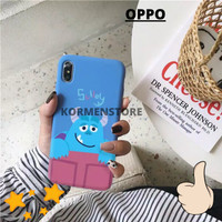 Casing Hp OPPO F1 F3 F5 F7 F11 PRO PLUS A71 A83 Softcase Motif SULLEY