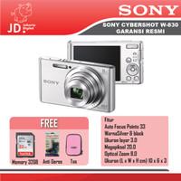 SONY DSC W830 Black Paket Memory 32gb