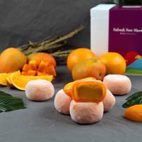 Halal Miwaku Vegan Es Krim Mochi Mango Orange