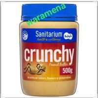 Sanitarium Peanut Butter Crunchy Spread 500gr - Selai Kacang Import