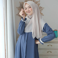 Amira Dress / Gamis Lucu Muslimah / Dress Busui / Daily Dress Polos