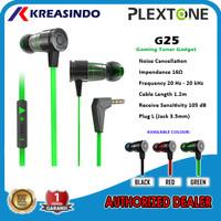 Plextone G25 In Ear Gaming Earphone Headset Noise Canceling Original