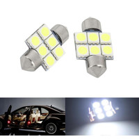 LED PLAFON 6 SMD 5050 31MM LAMPU KABIN LAMPU LED MOBIL INTERIOR