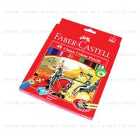 Pensil Warna Faber-Castell 48 Classic Colour Pencils (#115858)