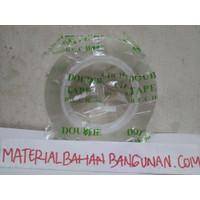 Magic Tape Transparan 5 Meter Double Tape Dobel Tip Perekat Lem Kaca