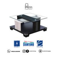 Coffee Table Siantano CT 593 / Meja Tamu Minimalis Kaca / Meja Kecil