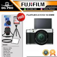 FujiFilm X-A10 Kit 16-50mm OIS II Garansi Resmi-Fuji XA10 PAKET BONUS