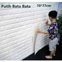 wallsticker 3d bata/ wallstiker 3d bata foam
