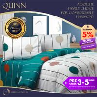 Quinn Premium Bed Cover Set Bergaransi | Premium Bedding Set - Single