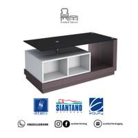 Coffee Table Siantano CT 011 / Meja Tamu Minimalis Kaca / Meja Kecil