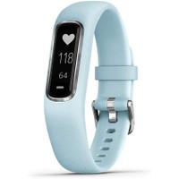 GARMIN VIVOSMART 4 Activity Fitness Tracker Pulse Ox and Heart Rate - LightBlue