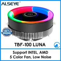 FAN COOLER ALSEYE TBF-100 LUNA CPU FOR LGA775 /1151/1155/AM2/AM3/AM4