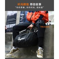 Tas travel kabin sport selempang jinjing tas pria wanita gym fitness