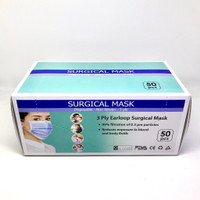 MASKER 3 PLY / SURGICAL MASK Isi 50pc bersertifikat CE