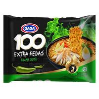 Gaga 100 Extra Pedas Kuah Soto 75 g