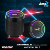 AEROCOOL MIRAGE 5 ARGB - CPU AIR COOLER