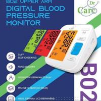 Tensimeter Digital Dr Care B02/Tensi /Tensi Lengan Digital