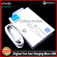 Kabel Data Vivo X21 Y19 Z1 Pro Original 100% Fast Charge Micro USB 2A